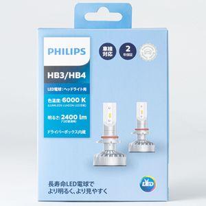 PHILIPS ヘッドライト用LED HB3/HB4 11005