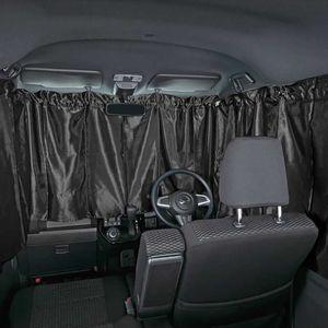 BONFORM プライバシーカーテン 軽・普通車・SUV用 7902-05 ブラック