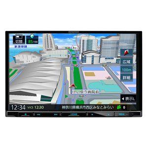 KENWOOD 彩速ナビ MDV-S707L 8型モデル 地上デジタルTVチューナー/Bluetooth内蔵/DVD/USB/SD AVナビゲーション