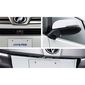 ALPINE 車種専用3カメラセーフティーパッケージ PKG-SF25-VE トヨタ ヴェルファイア ブラック