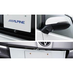 ALPINE 車種専用3カメラセーフティーパッケージ PKG-SF25N-AV-W トヨタ アルファード/ヴェルファイア ホワイト