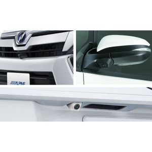 ALPINE 車種専用3カメラセーフティーパッケージ PKG-SF25-VO トヨタ ヴォクシー ブラック