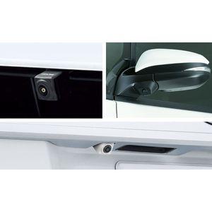 ALPINE 車種専用3カメラセーフティーパッケージ PKG-SF25N-NVE トヨタ ヴォクシー/ノア/エスクァイア ブラック