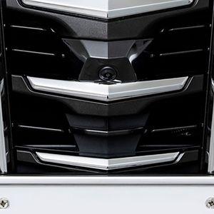 ALPINE 車種専用マルチビュー・フロントカメラ PKG-C25HD-FD2-AL トヨタ アルファード ブラック