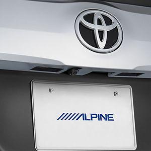 ALPINE 車種専用マルチビュー・バックカメラ HCE-C20HD-RD-AV トヨタ アルファード/ヴェルファイア ブラック