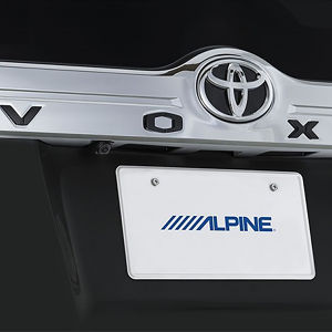 ALPINE 車種専用マルチビュー・バックカメラ HCE-C20HD-RD-NVE トヨタ ヴォクシー/ノア/エスクァイア ブラック