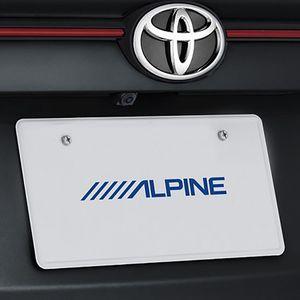 ALPINE 車種専用マルチビュー・バックカメラ HCE-C20HD-RD-HA トヨタ ハリアー/ハリアーハイブリッド ブラック