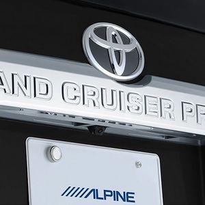 ALPINE 車種専用マルチビュー・バックカメラ HCE-C20HD-RD-LP トヨタ ランドクルーザープラド ブラック