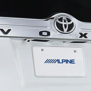 ALPINE 車種専用マルチビュー・バックカメラ HCE-C20HD-RD-NVE-W トヨタ ヴォクシー/ノア/エスクァイア ホワイト