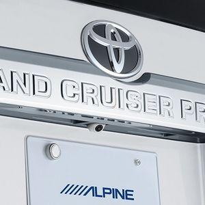 ALPINE 車種専用マルチビュー・バックカメラ HCE-C20HD-RD-LP-W トヨタ ランドクルーザープラド ホワイト