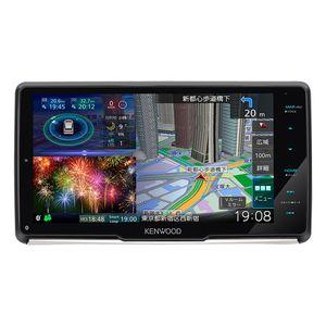 KENWOOD 彩速ナビ MDV-M907HDF 9V型フローティングモデル 地上デジタルTVチューナー/Bluetooth内蔵/DVD/USB/SD AVナビゲーション