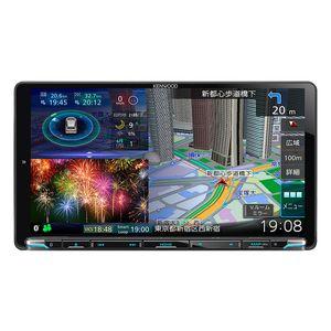 KENWOOD 彩速ナビ MDV-M907HDL 9V型モデル 地上デジタルTVチューナー/Bluetooth内蔵/DVD/USB/SD AVナビゲーション