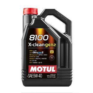MOTUL 8100 X-CLEAN GEN2 5W-40/5L 化学合成油