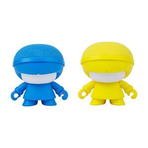 XOOPAR BOY TINY Bluetoothスピーカー ブルー×イエロー