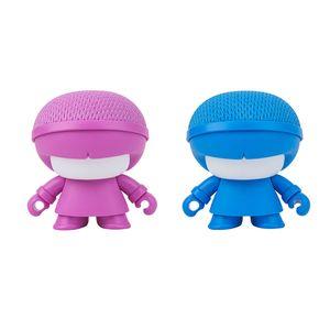 XOOPAR BOY TINY Bluetoothスピーカー ピンク×ブルー