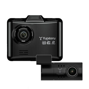 YUPITERU DRY-TW7550d 前後2カメラドライブレコーダー