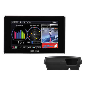 COMTEC ZERO909LS レーザー&レーダー探知機