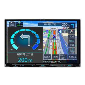 KENWOOD 彩速ナビ MDV-L308L 8V型モデル ワンセグTVチューナー内蔵/CD/USB/SD AVカーナビゲーションシステム