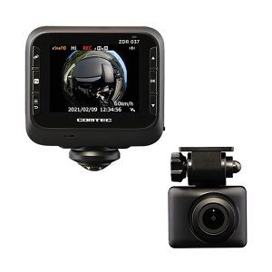 COMTEC ZDR037 前後2カメラドライブレコーダー