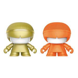 XOOPAR BOY MINI 2in1 XB-P01M Bluetoothスピーカー ゴールド/オレンジ