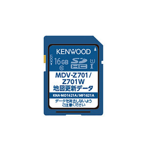 KENWOOD KNA-MD1621A 地図更新SDカード