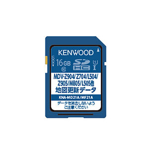 KENWOOD KNA-MD21A 地図更新SDカード