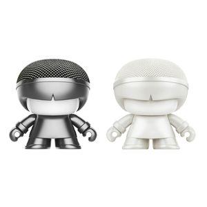XOOPAR BOY MINI 2in1 XB-P04M Bluetoothスピーカー グレー/ホワイト
